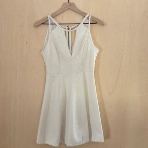 Free People Mini White Dress Size 6